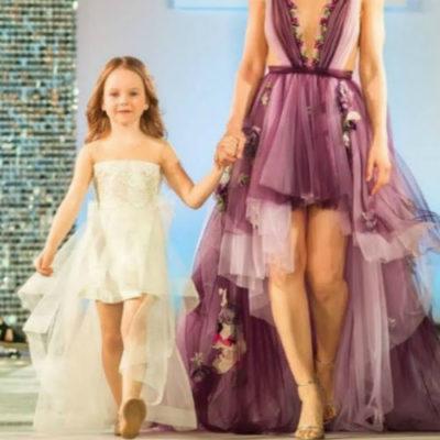 Анна Снаткина вывела малолетнюю дочь на подиум