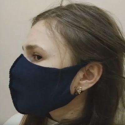 Как сделать защитную маску для лица в домашних условиях без швейной машинки